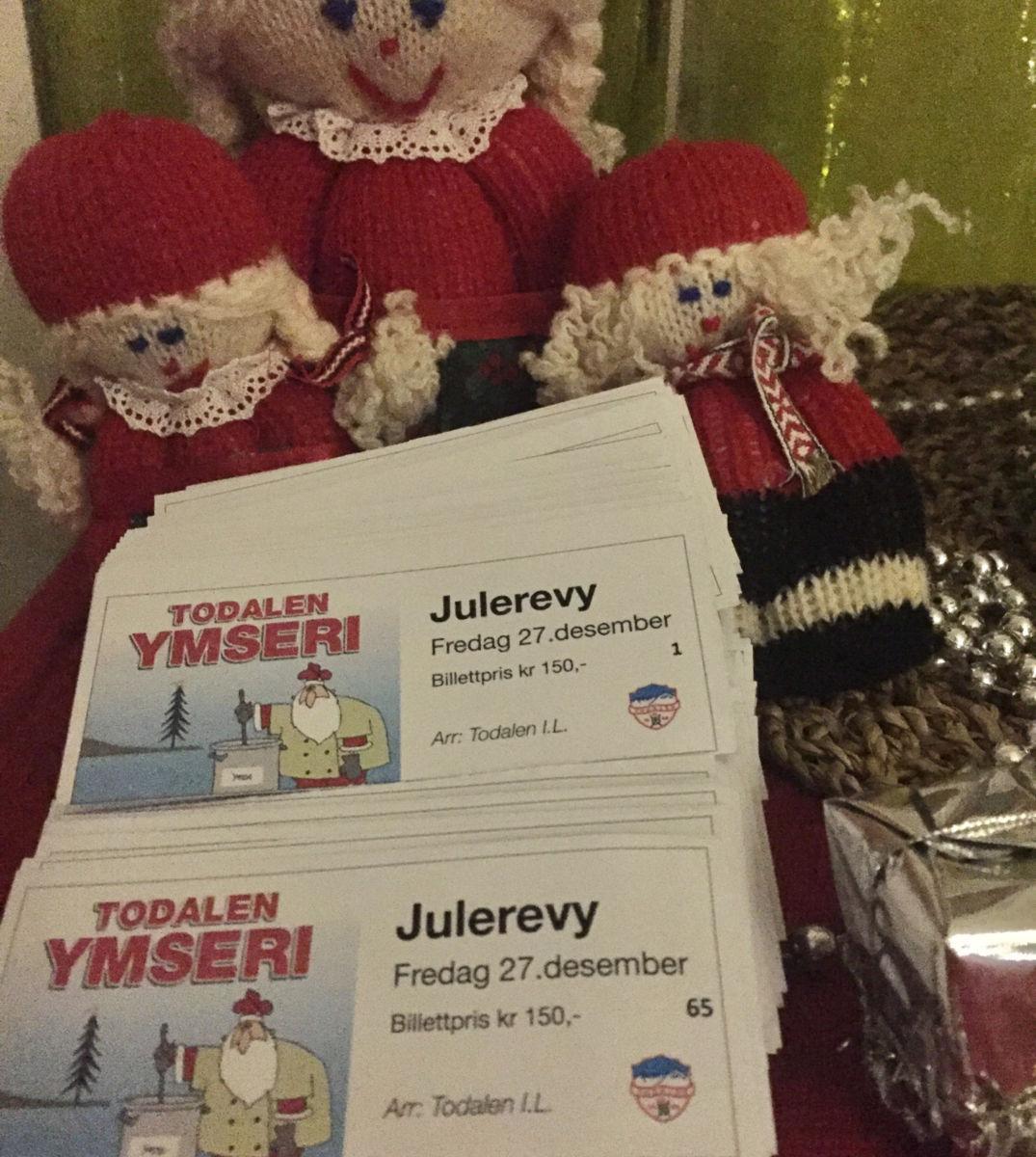 Billettane til julervyen er i sal!