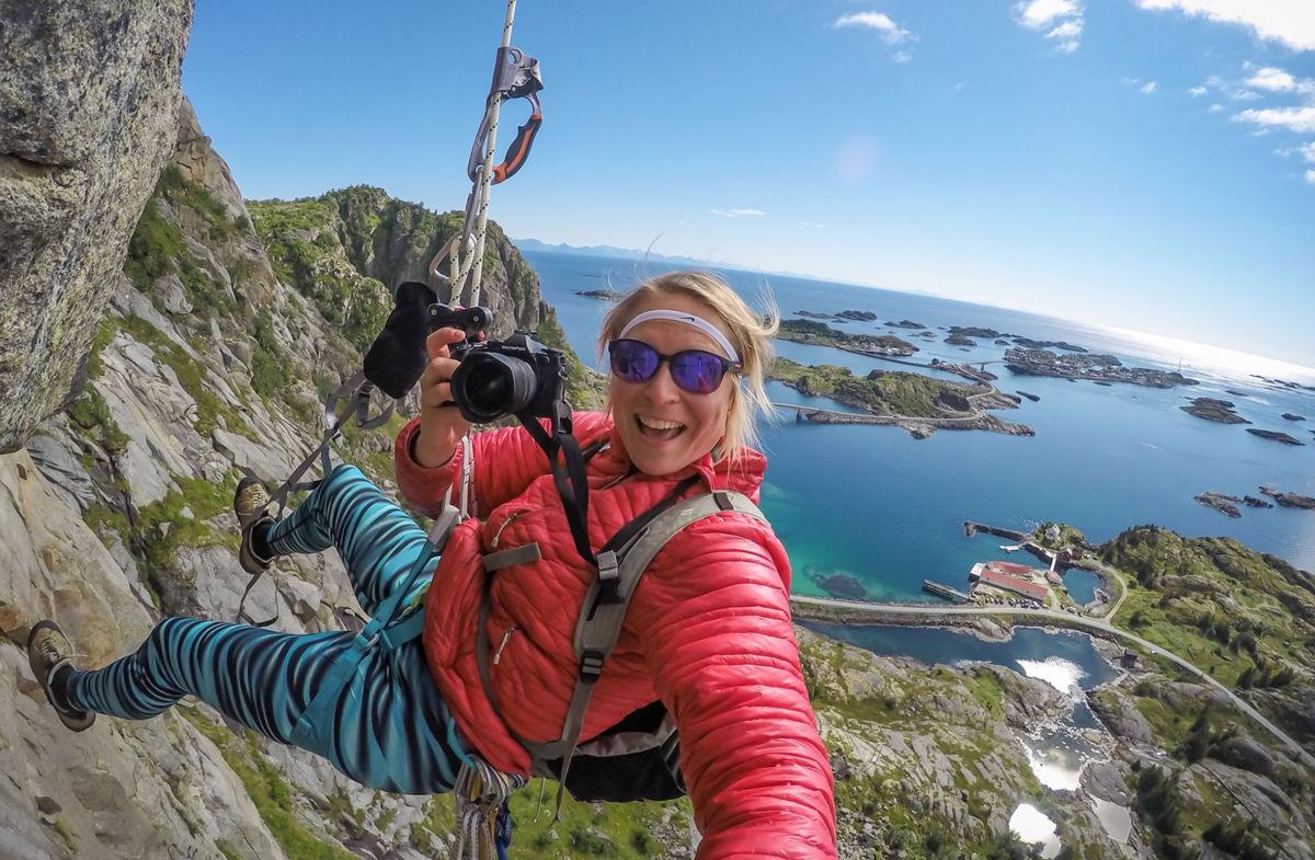 Kom og hør Kristine Folsland Olsen som kjem til Kårvatn. Foto:: KFO
