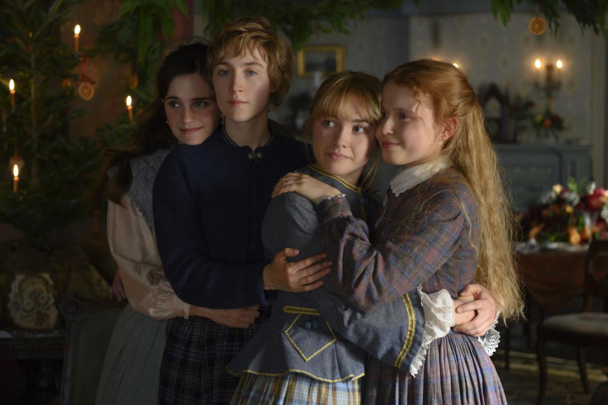 Emma Watson, Saoirse Ronan, Florence Pugh and Eliza Scanlen in Greta GerwigÕs LITTLE WOMEN
