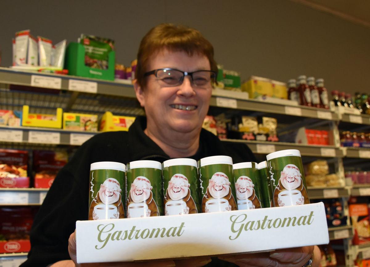 Det er mange som har venta på at Gastromat skulle dukke opp igjen, fortel Marit Tørset    Foto: Jon Olav Ørsal