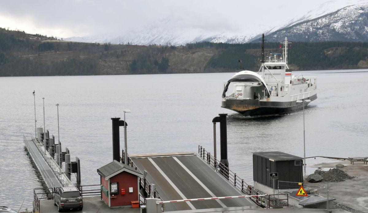 Bjørnsund ved Kvanne ferjeleie - illustrasjonsbilete Jon Olav Ørsal