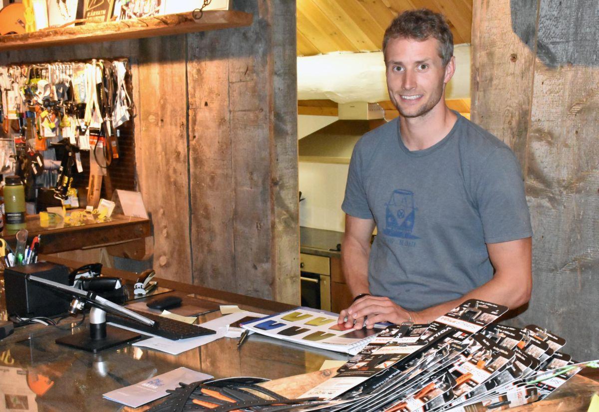 De siste par åra har Nils-Erik jobbet hos Kårvatn Fjellustyr innimellom konkurranser og treningssamlinger.  Arkivfoto: Jon Olav Ørsal