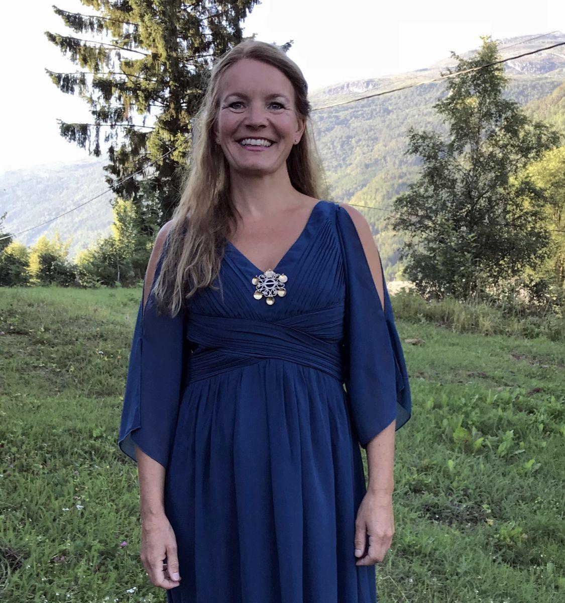 Unni Boksasp heldt konsert i Todalen sommaren 2018. Foto: Dordi J H