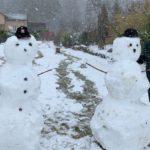 Beregn  to  snømann's  avstand