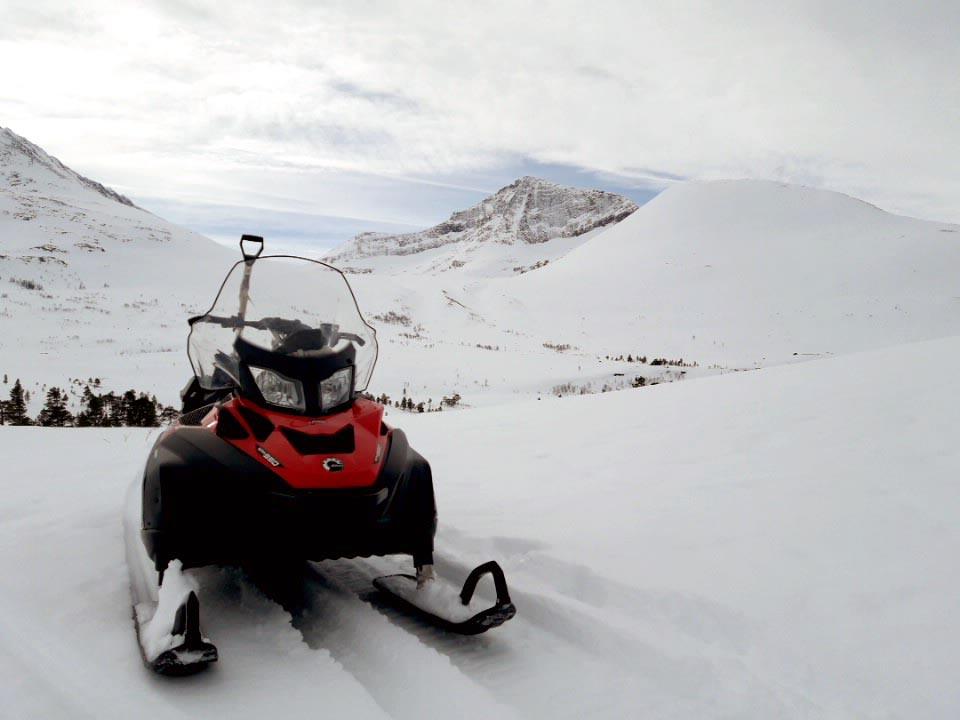 Snøfjellet og midtryggen i bakgrunnen.  Foto: Gunnar Nordvik