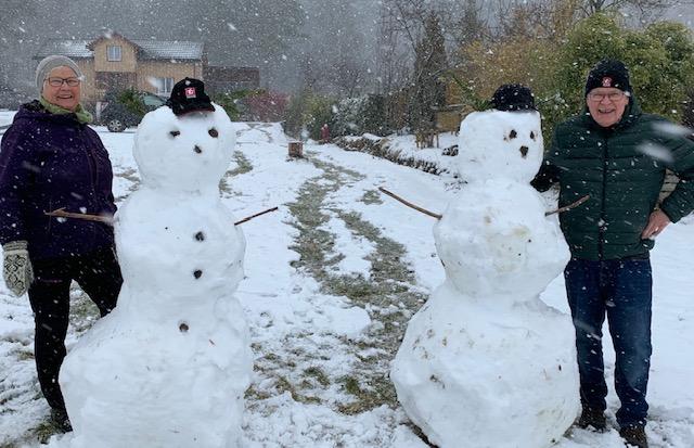 Månadens bilete april: Beregn to snømanns avstand