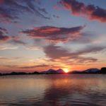 Solnedgang  på  Storfjellet
