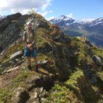 Snøkontrast,  Kristoffer  på  Blåfjellet  11  Juni  ifjor