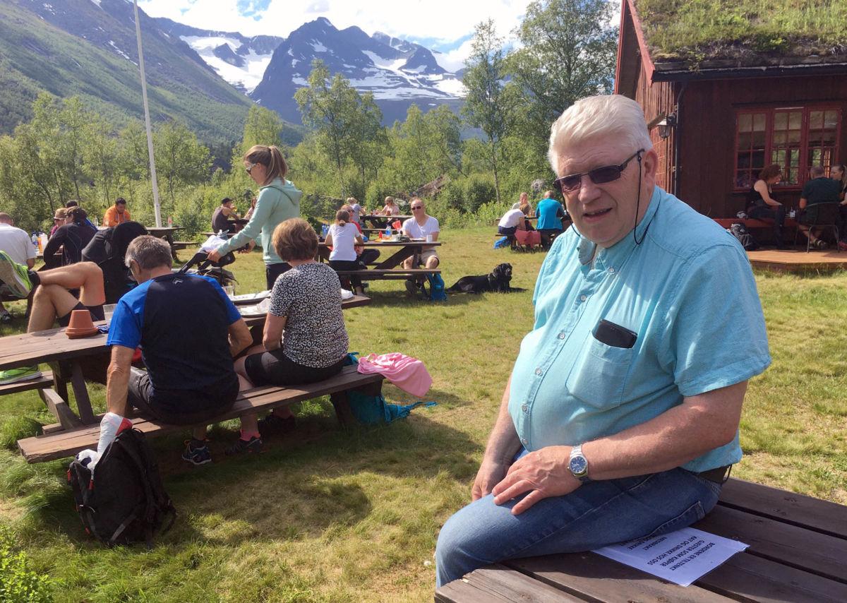 Iver Innerdal er fødd og oppvaksen i Innerdalen - her høyrer han heime.  Foto: Driva/Jon Olav Ørsal