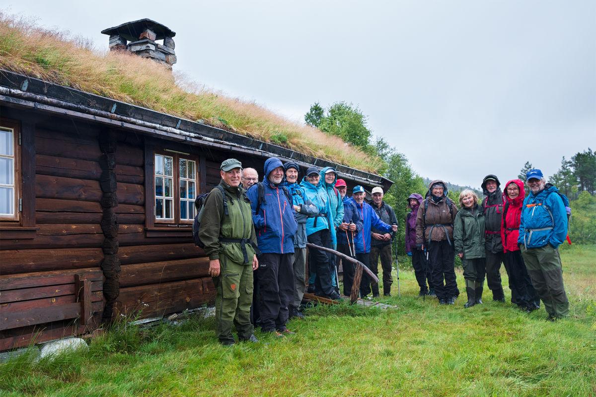 Illustrasjonsfoto - fjellgruppa på Mogstadsetra.