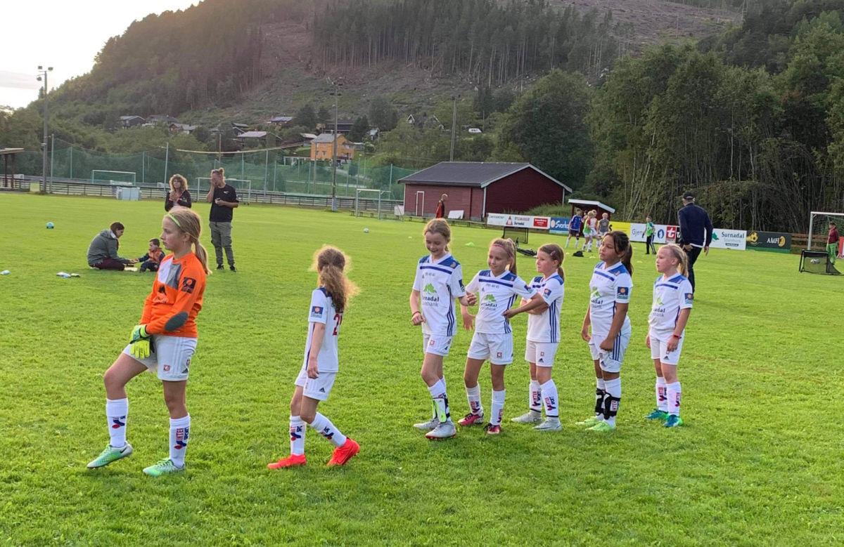 FOTBALL:  Søya/Todalen J9/10 – Sunndal J10