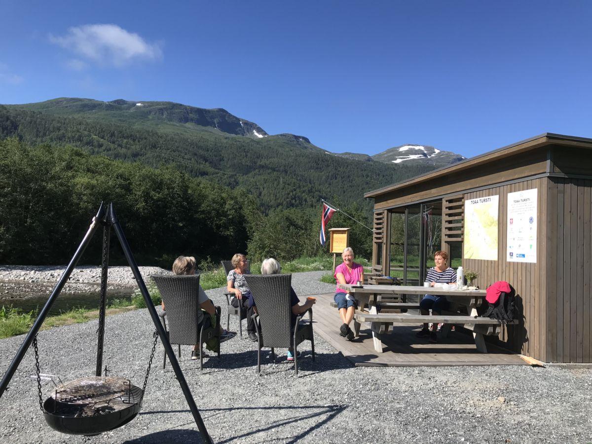 Kløvertur i Toåa tursti. Foto: Dordi J H