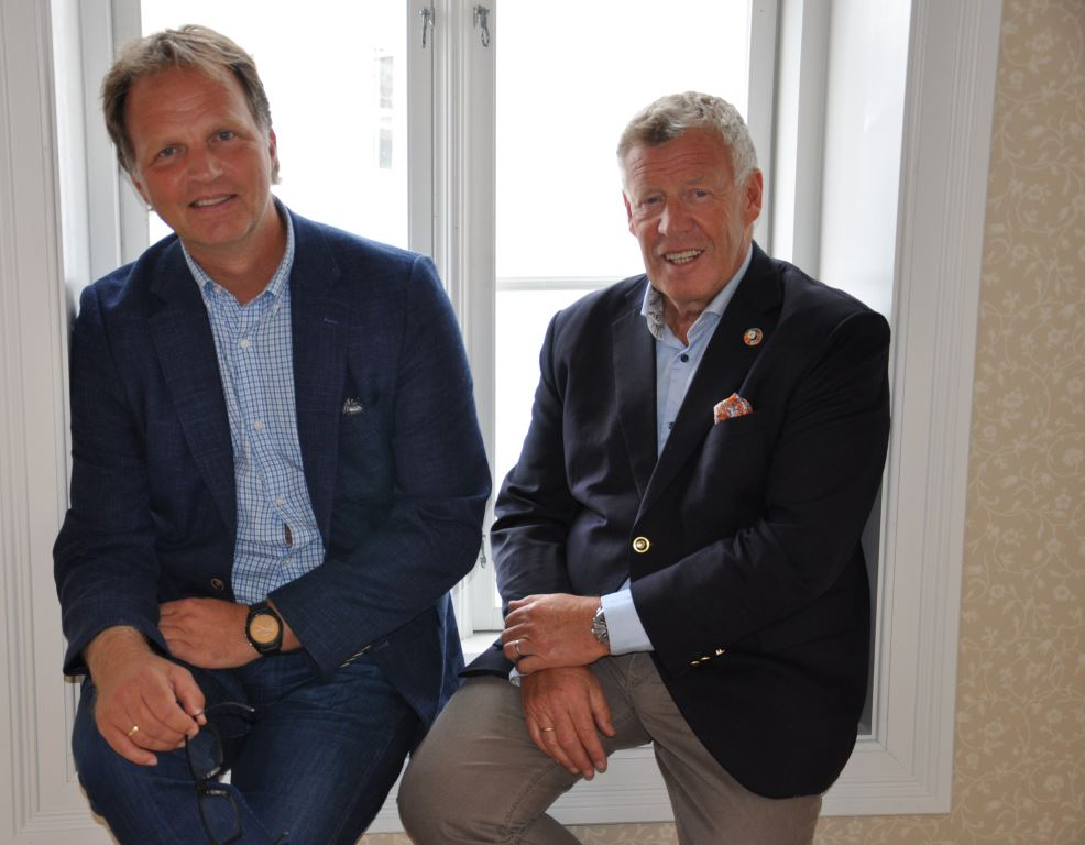 Allan Troelsen og Odd Einar Folland.