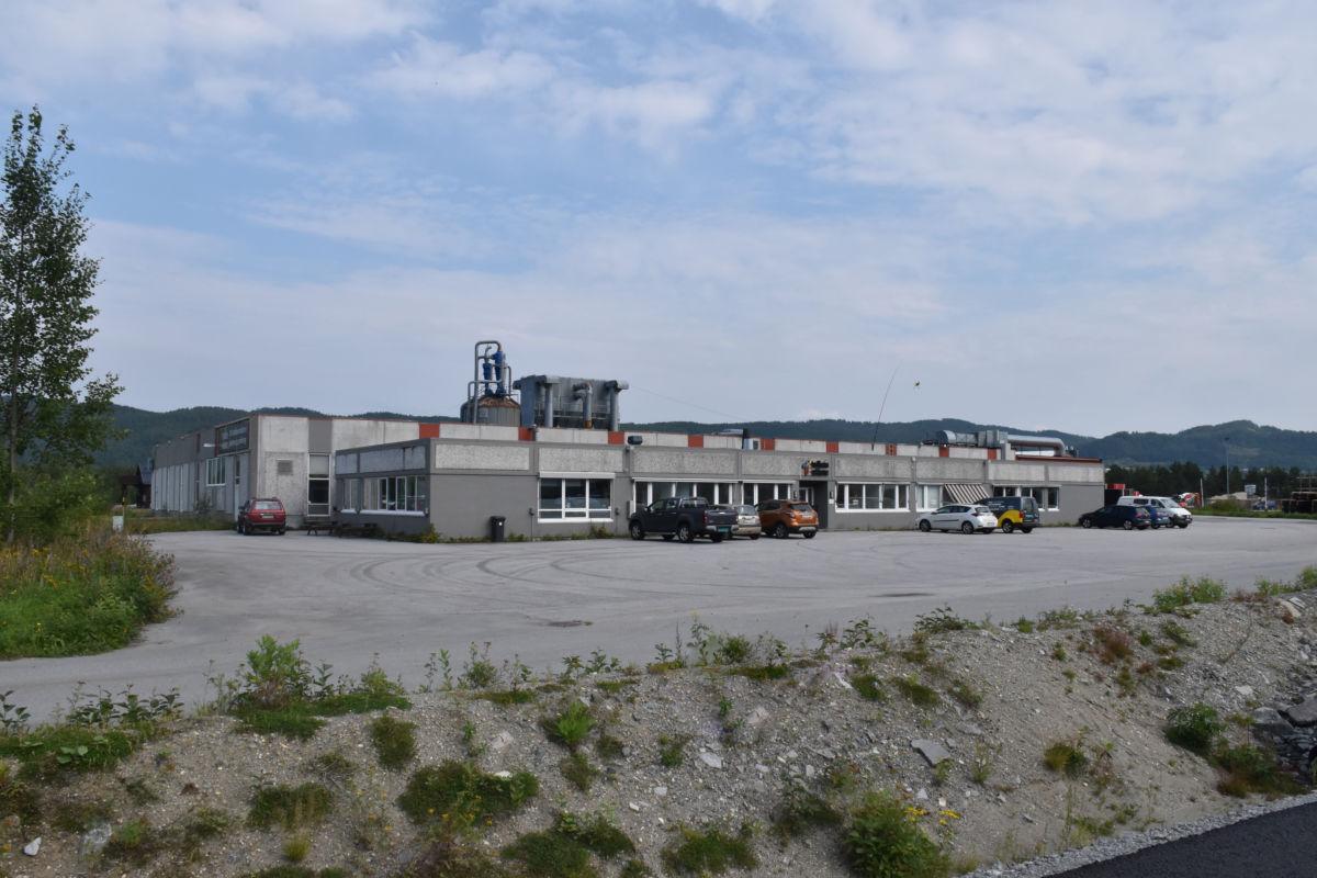 Lokalene til Trollheim AS i Trelastveien  på Syltøran. Foto: Jon Olav Ørsal