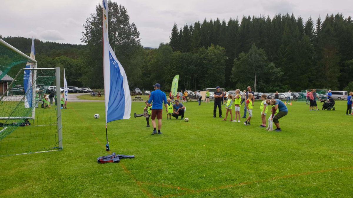 Aktivitetsdag på Søyabanen. Foto: Anders Gjeldnes