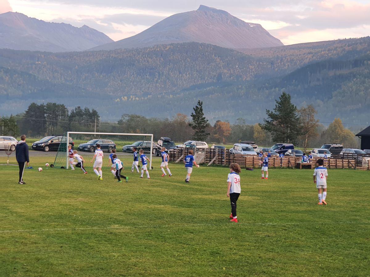 Sesongens siste fotballkamp på Bordholmen stadion