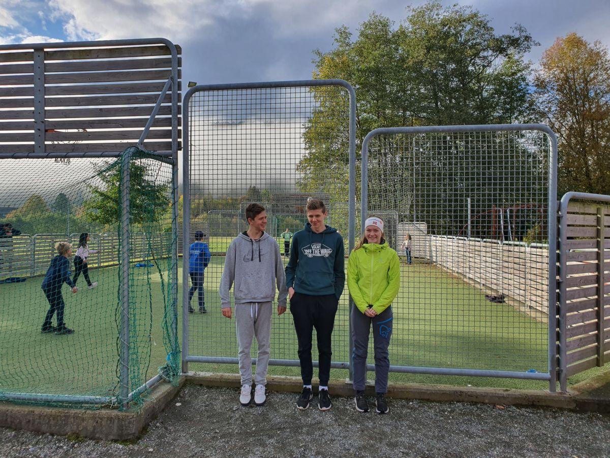 Ingebrigt K. Bergli, Martin K. Talgø og Maren M. Karlsen. Foto: B G Ansnes