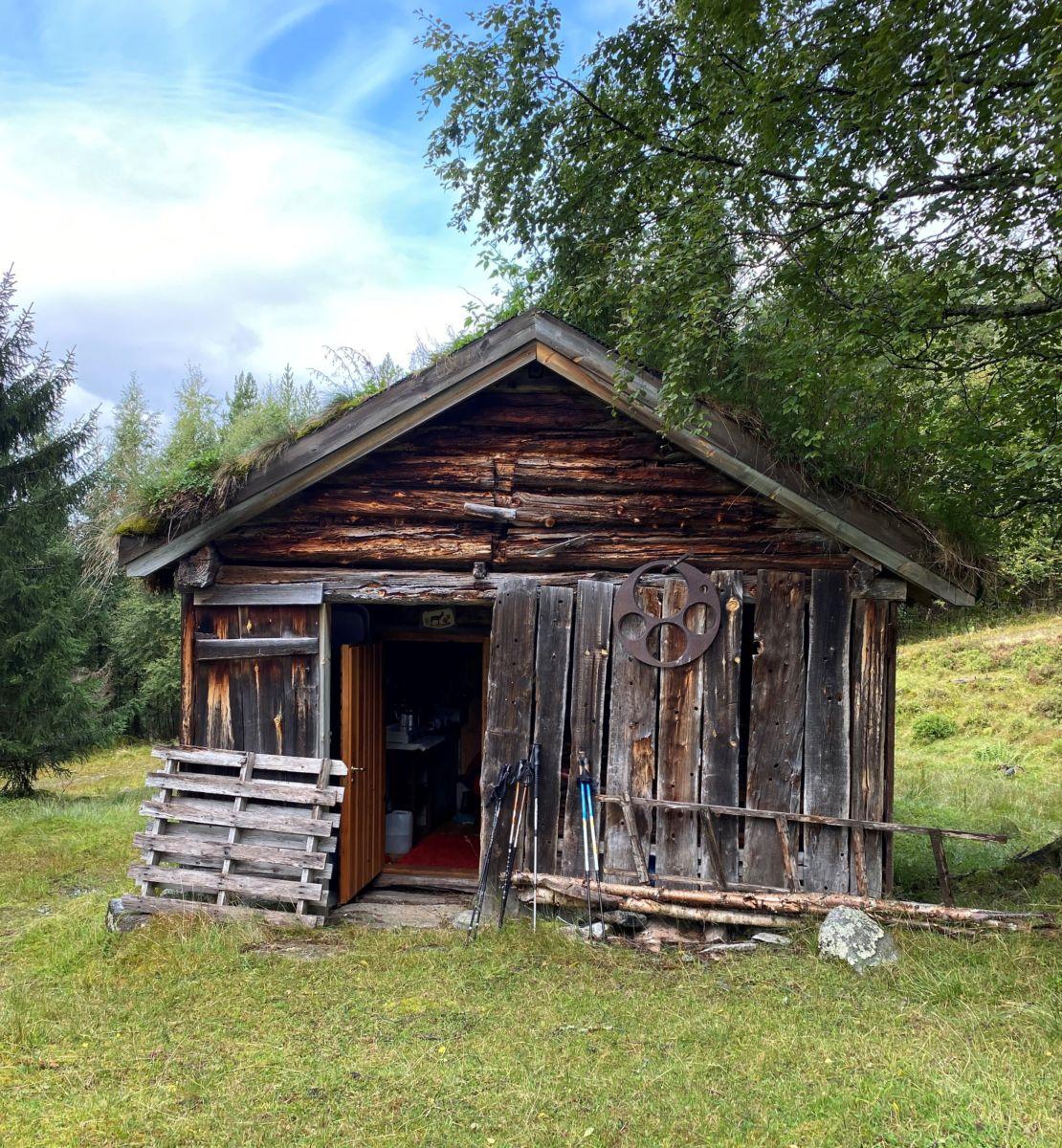 Oppistusetra på Hjelllnes. Foto: Wenche Ø K