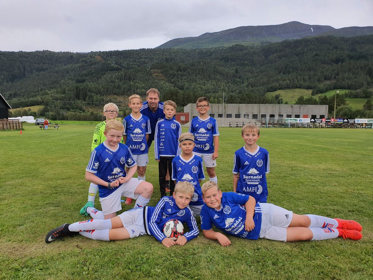 Bordholmen stadion – årets siste fotballkamp
