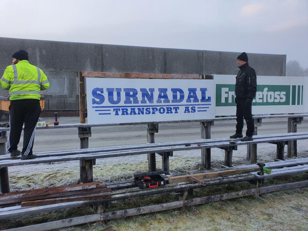 Surnadal Transport AS ny samarbeidspartnar for Todalen I.L. Foto: B G Ansnes