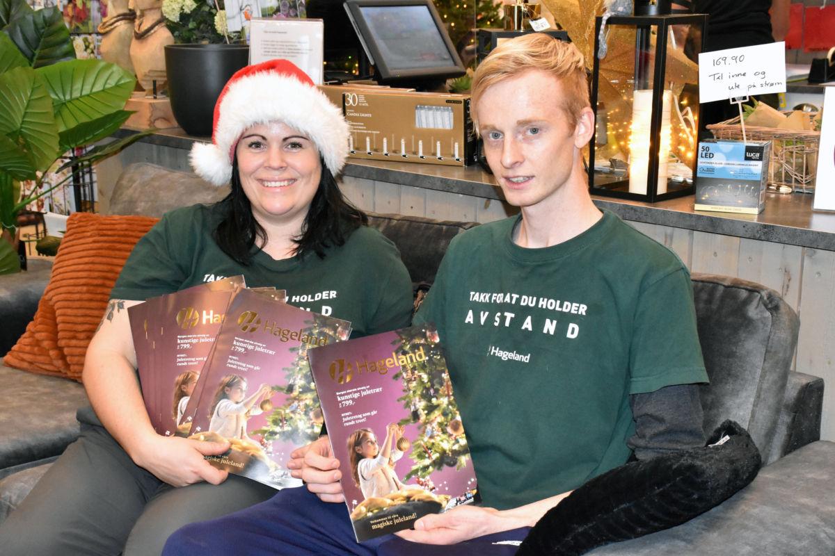 Ida og Ola ideheftet som er spekka med 28 sider  julestemning. av beste sort.  Foto: Jon Olav Ørsal