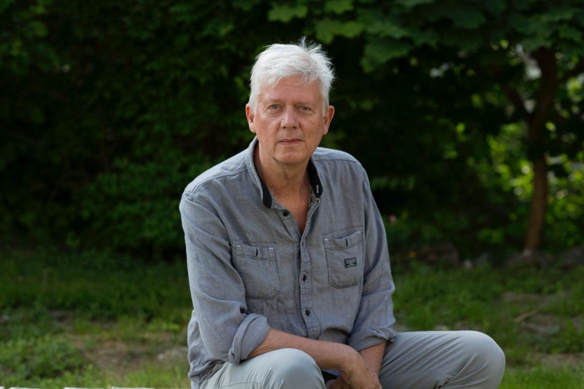 Fortattar Chris Tvedt. Foto Odd Nerbø, Gyldendal