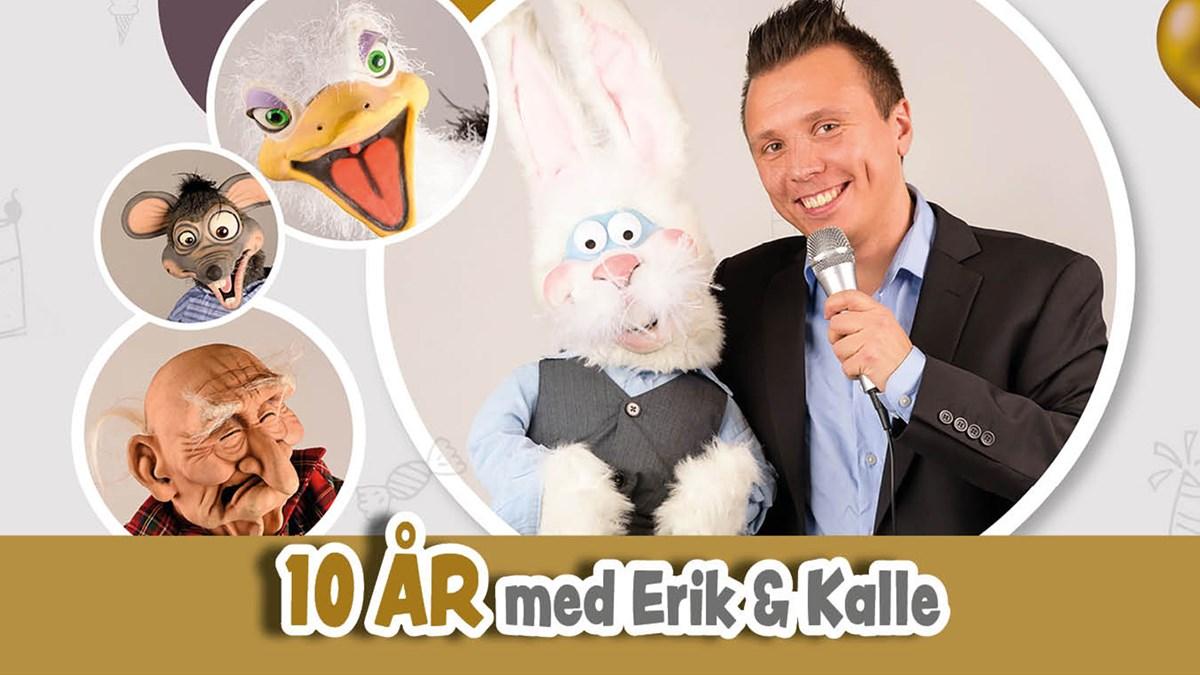 Erik & Kalle. Foto: Privat