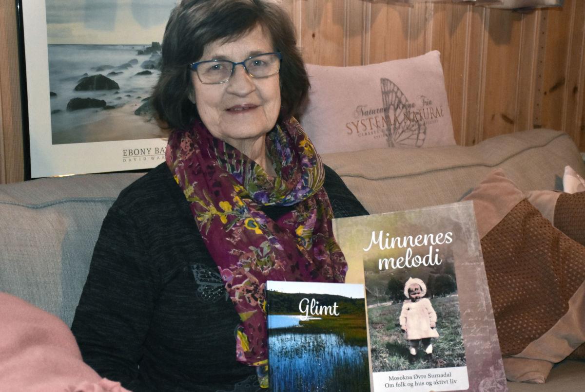 Grete har fått god respons på boka si - no kjem det nytt opplag i romjula.  Foto: Jon Olav Ørsal
