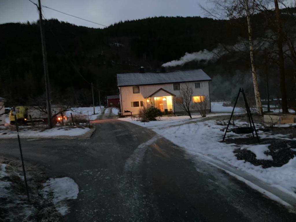 Brann på Ørmo. Foto: Jon Olav Ørsal