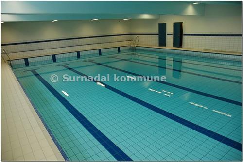 Surnadal svømmehell. Foto: Surnadal kommune