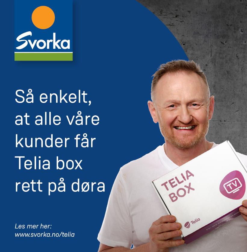 Pressemelding frå Svorka