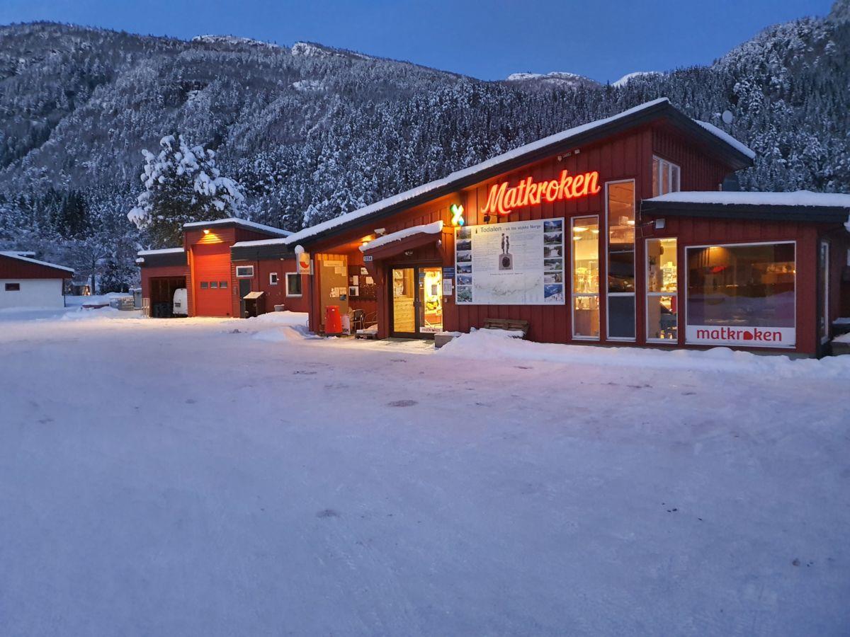 Matkroken Todalen i vinterdrakt. Foto: B G Ansnes