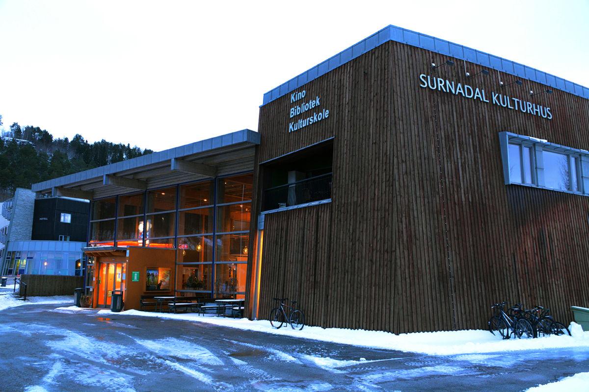Surnadal kulturhus. Foto: Surnadal kommune