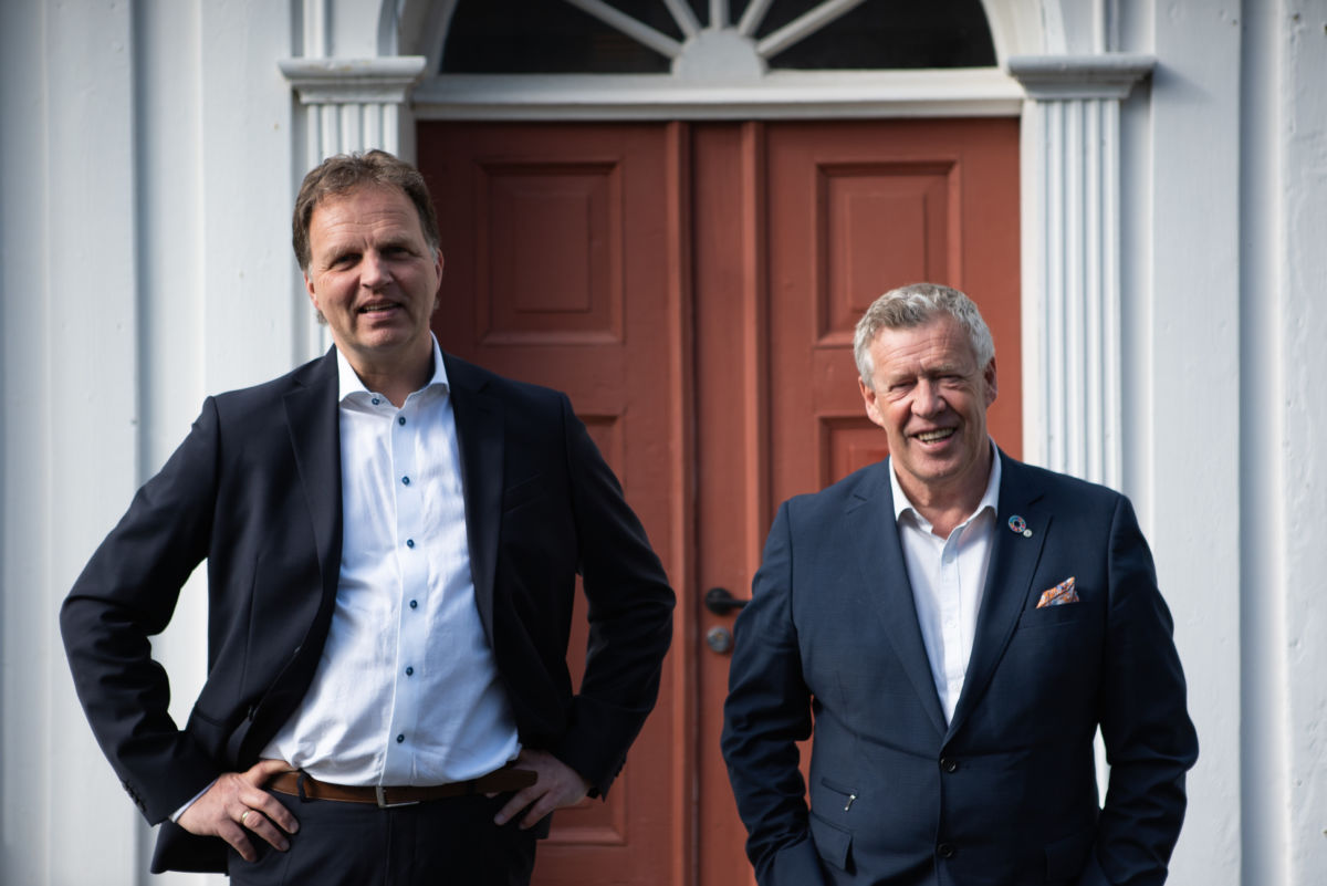 Allan Troelsen og Odd Einar Folland