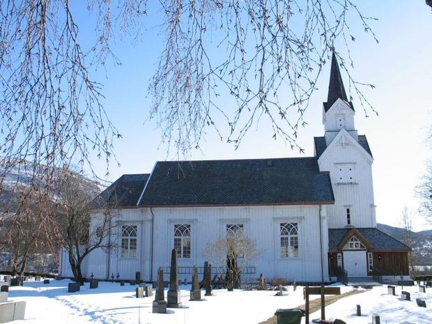 Digital høgtidsgudsteneste frå Øye kyrkje
