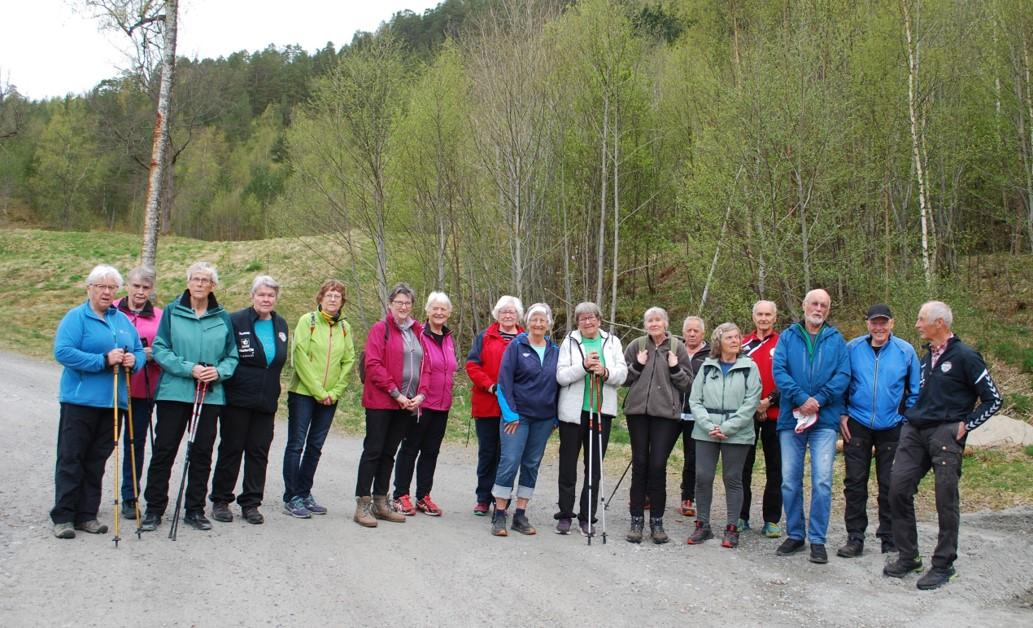 Klar for tur! Foto: Sverre Kjølstad
