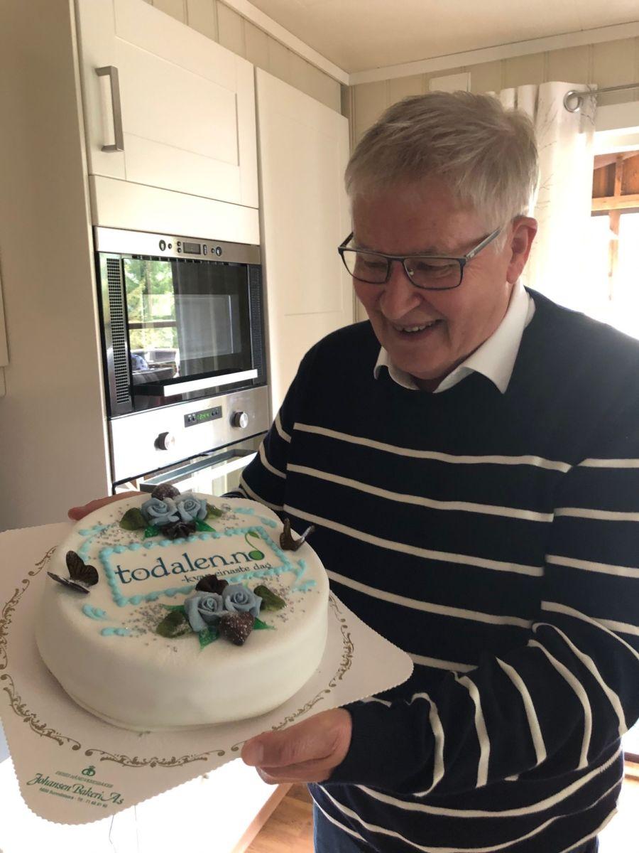 Redaktør Ørsal fyller 70 år i dag