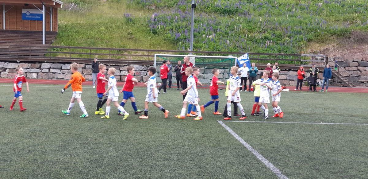 Takk for kampen! Foto: Anja Nordvik