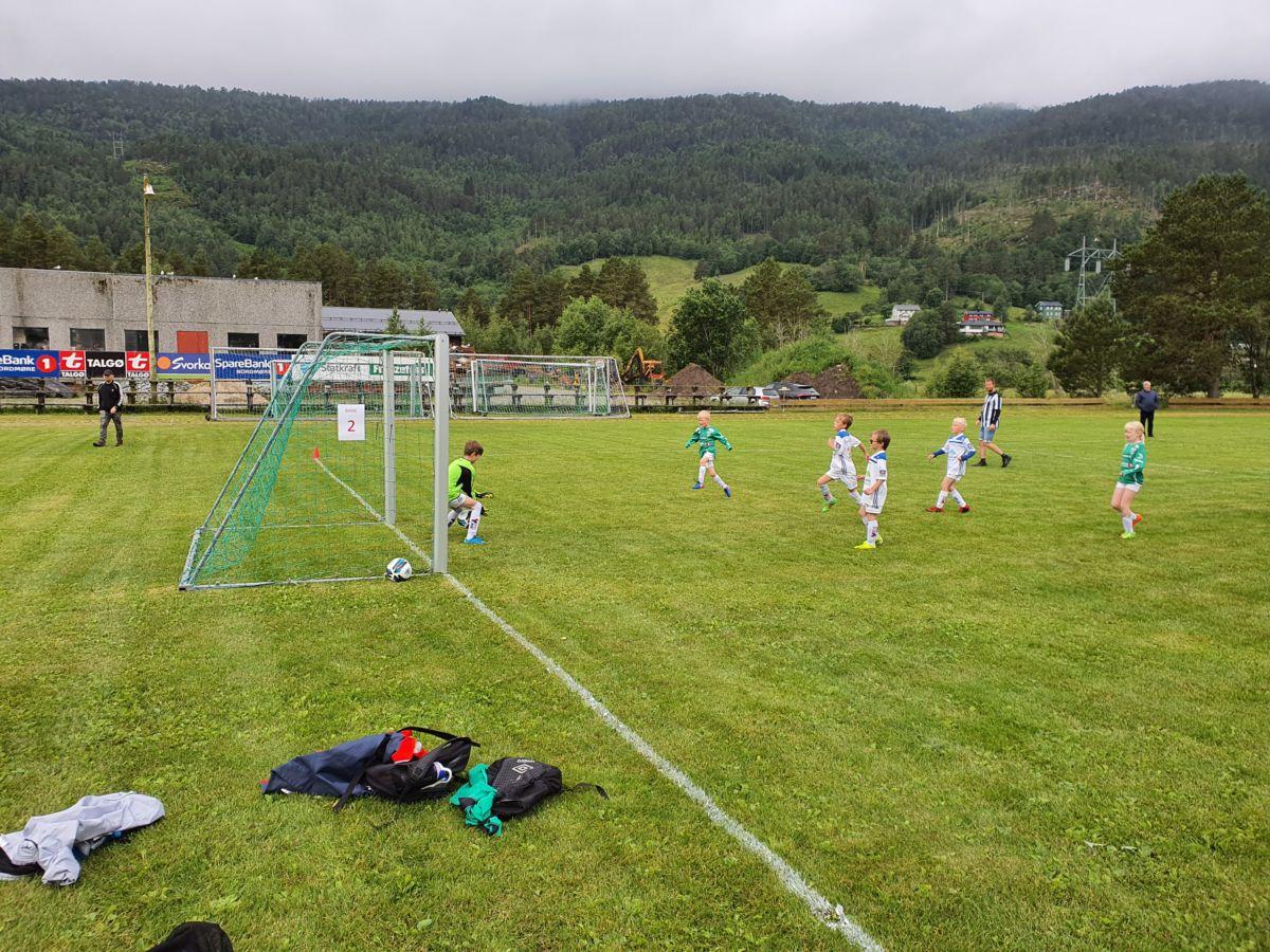 Endeleg vart det cup igjen! Foto: B G Ansnes