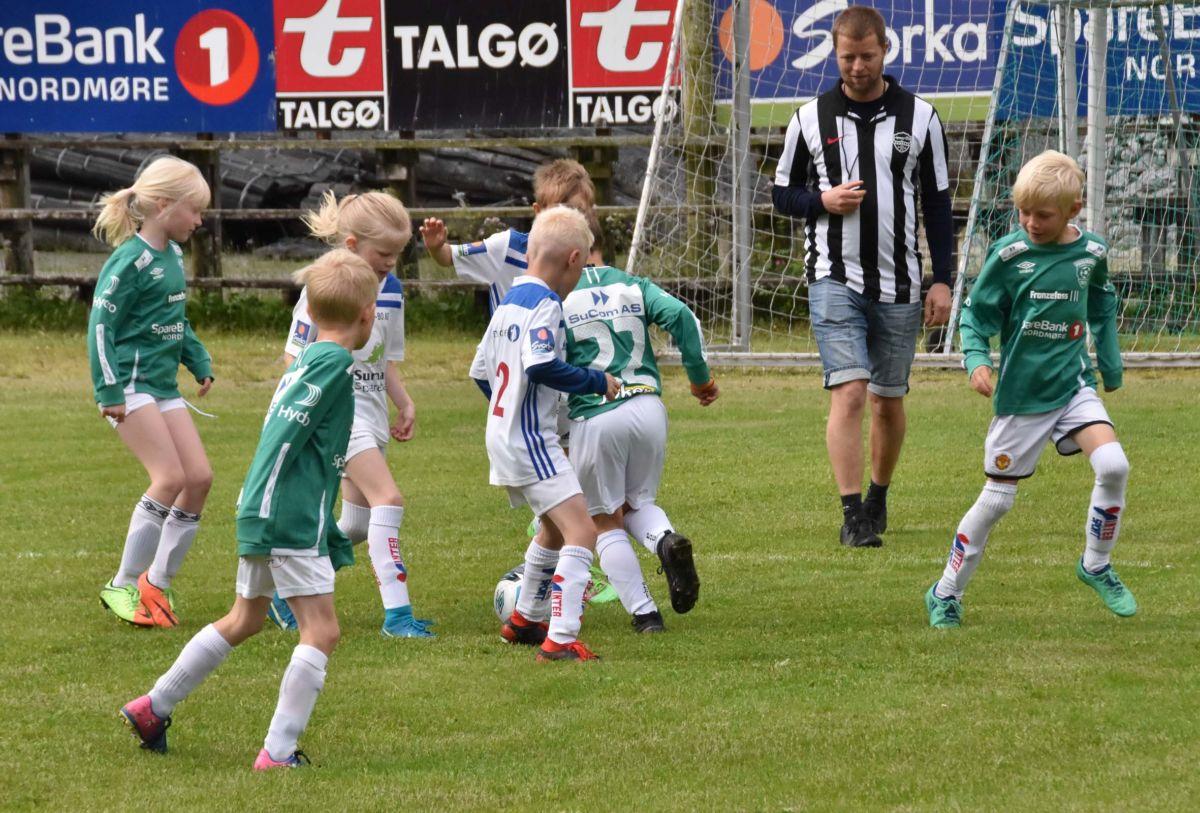 Søya/Todalen og Kvass/Ulvungen spela i gang Todalsdagen.  Foto: Jon Olav Ørsal