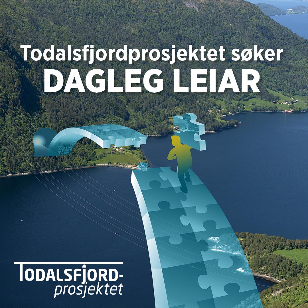 Todalsfjordprosjektet søker dagleg leiar