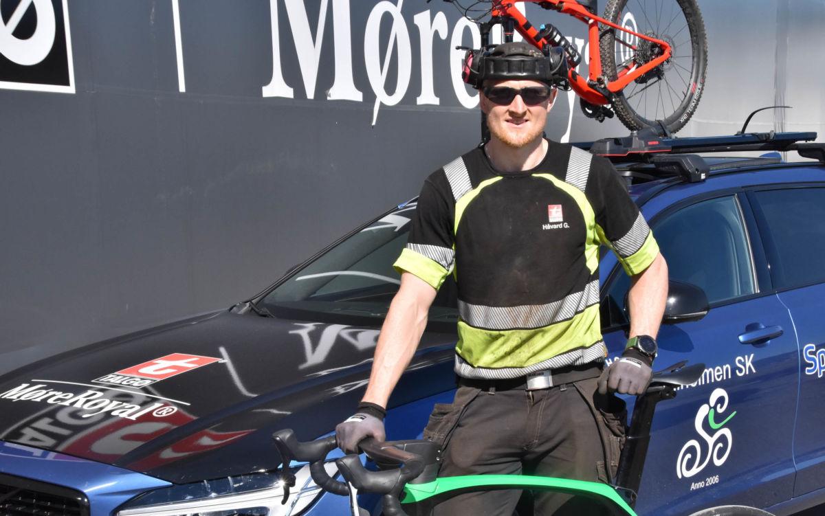 Håvard satsar for fullt på ny sykkelsesong.  Foto: Jon Olav Ørsal