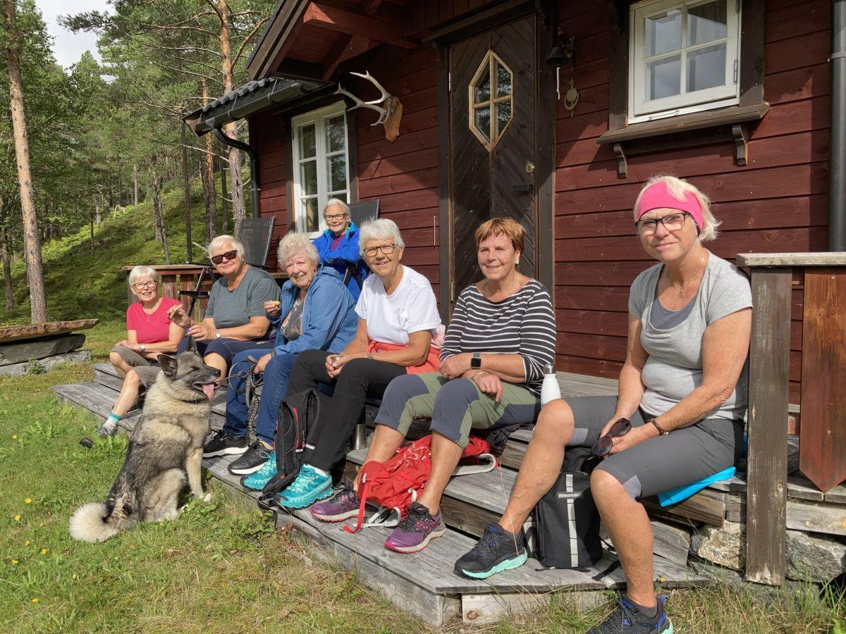 Triveleg kaffepause. Foto: Marit Sanden Søyset.