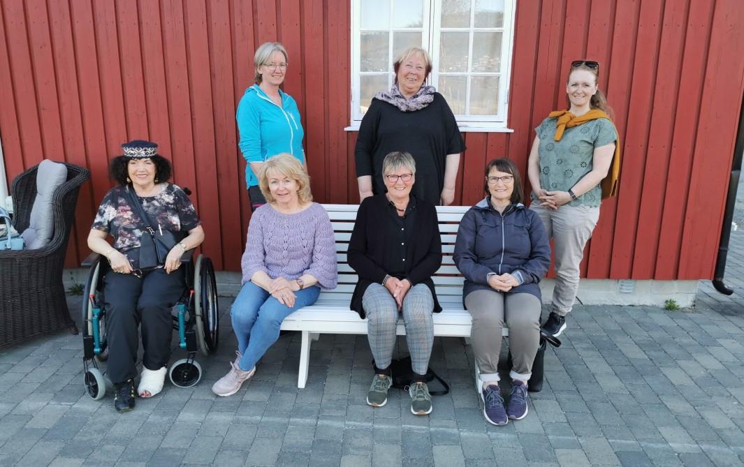 Styret i Surnadal demensforening og helselag. Foto: Gunnhild Hyldbakk
