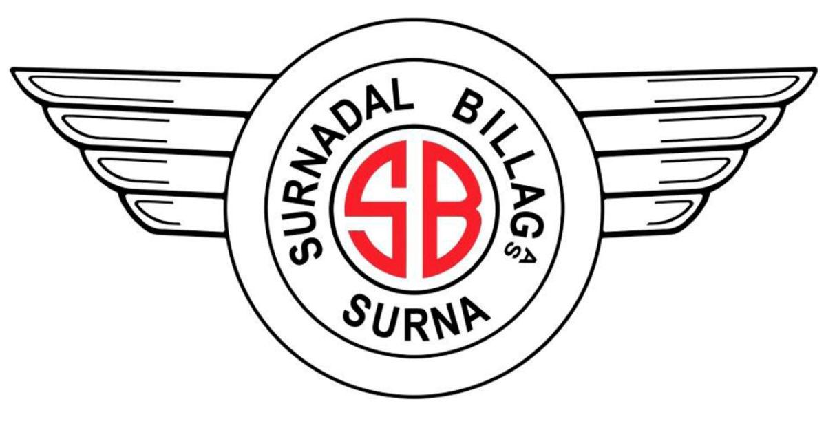 Surnadal billag sin velkjente logo.